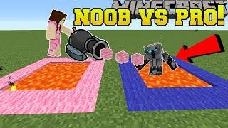 Minecraft: Noob Vs Pro!!! - Popularmmos Mini-game Challenge - Mini-game