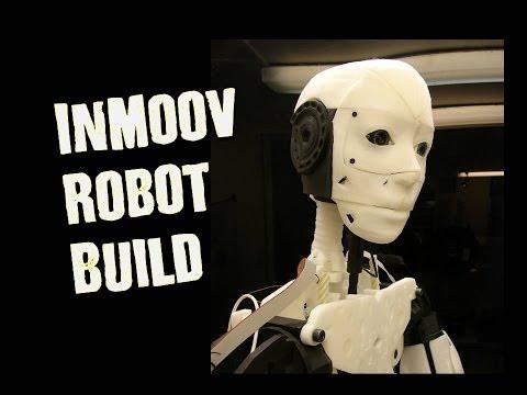 Building Humanoid Robot Head- 3D Printed InMoov