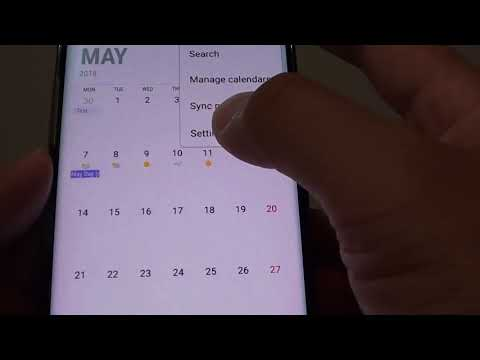 Samsung Galaxy S8: How to Change Calendar Notification Sound