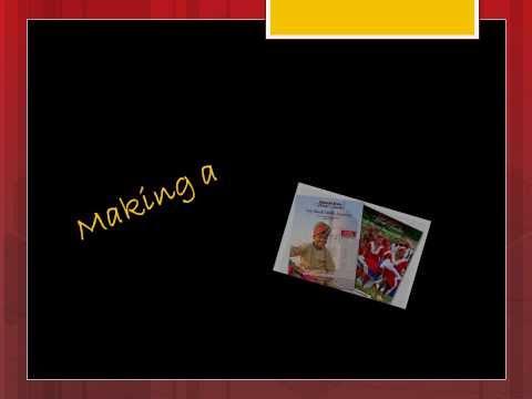 Making a travel brochure