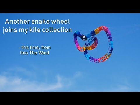 Snake Wheel kite line laundry from ITW