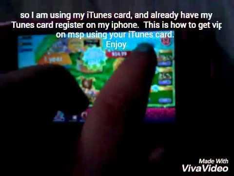 Getting vip using an iTunes card|Msx Msp
