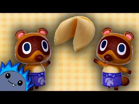 FORTUNE COOKIES PRIZES LIST -  Animal Crossing: New Leaf
