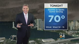 CBSMiami.com Weather @ Your Desk 4-24-18 6PM