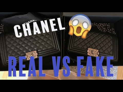 HOW TO SPOT A FAKE CHANEL HANDBAG! Chanel Real vs. Fake Comparison   Opulent Habits