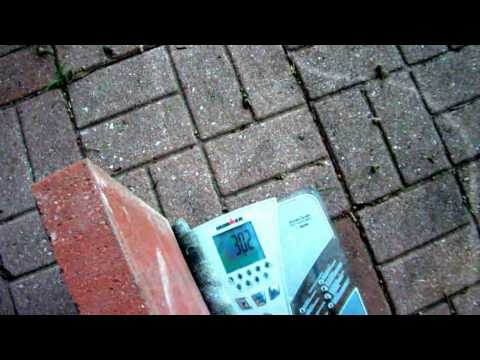 Red Brick Patio - cheap, fast & durable