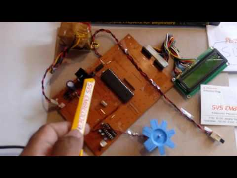 Automatic Fan Speed Control System Using Microcontroller