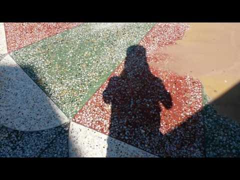 Concrete mosaic
