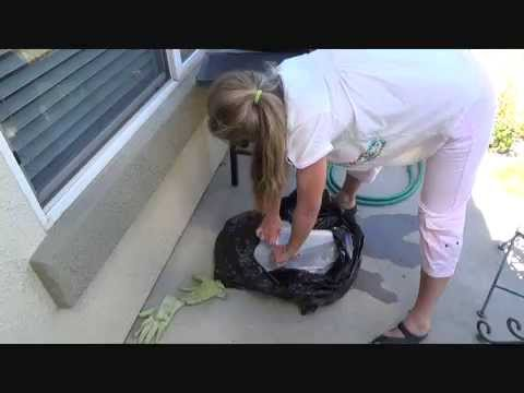 The easiest way to clean a barbecue grill
