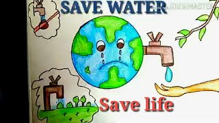 How To Draw Save Water Drawing Videos 9tube Tv