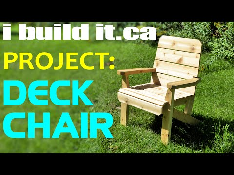 Easy To Make Deck Chair