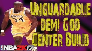 Best Center Build 2k17 | Best Center Myplayer NBA 2k17 | Overpowered Demi God Center Build Patch 7
