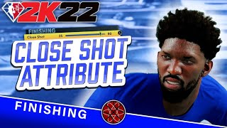 NBA 2K22 How to Finish at the Rim + Finishing Tips: Close Shot Attribute Boost Study