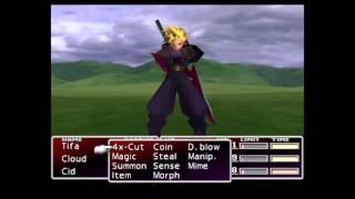 Final Fantasy VII: Master Summon and Cloud's Omnislash