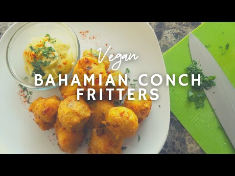Bahamian Conch* Fritters | How To Make Vegan Conch Fritters |GF| Korenn Rachelle