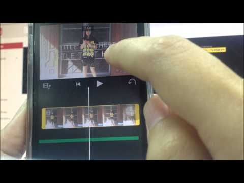 Create a movie by iMovie [iPhone 5s]