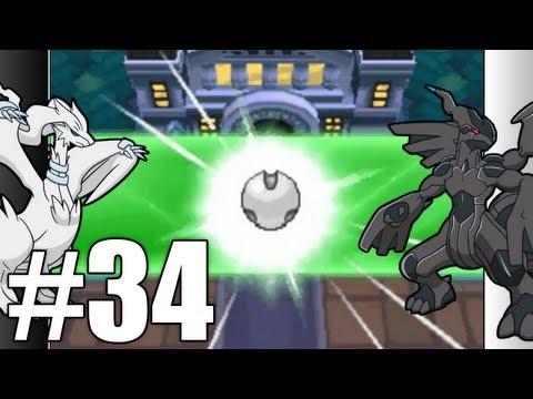 Pokemon Black & White Walkthrough - Episode 34: Light And Dark 'HD'