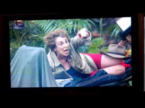 Kendra Wilkinson vs Edwina Currie (I'm A Celebrity Get Me Out Of Here 2014)