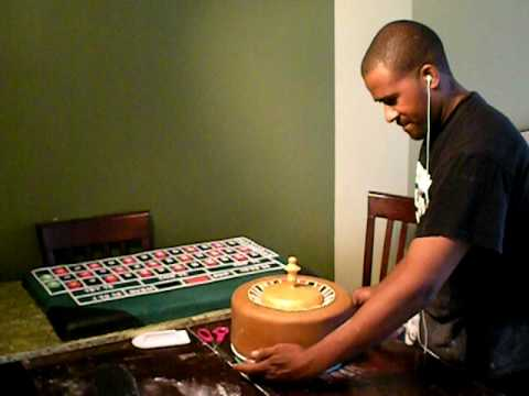 Roulette Wheel Cake Spins!