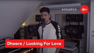 "This is the stripped back version of ""Dheere"" And ""Looking For Love"" Piano by @fredmelodies"