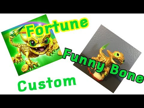 Custom Skylanders Lost Islands Fortune Funny Bone