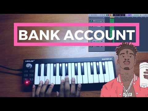 21 Savage - Bank Account (Instrumental Remake)