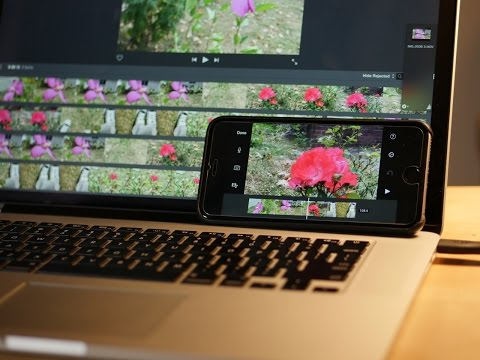 iPhone 6s Plus vs MacBook Pro: 4K Video iMovie Export