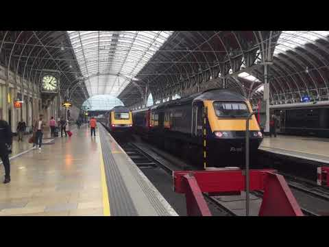 Great Western Railway HST Class 43 Departing Paddington for Penzance