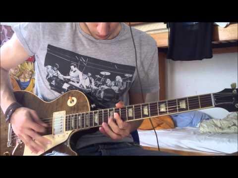 Mr. Big - Green tinted sixties mind : COVER Guitar (HD) ミスタービッグ Momose MLS1-STD2 TEB