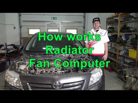 How works Radiator Fan Computer