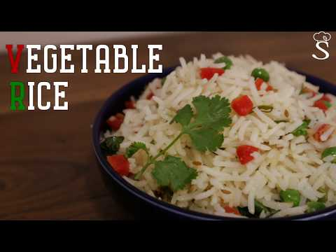 How to Make Vegetable Rice | Simple Vegetable Rice Recipe Vegetable Pulao Recipe by Shree's Recipes