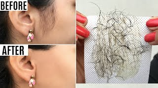 Instant FACE Hair Removal - 10 Ways to PERMANENTLY Get Rid of Face/Body Hair | PrettyPriyaTV