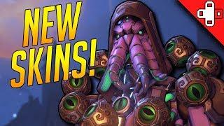 NEW SKINS! Overwatch Halloween Update!