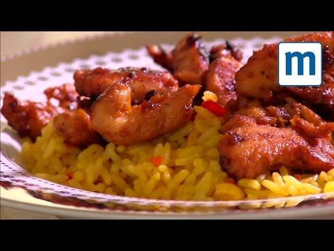 Super-quick Chinese chicken strips
