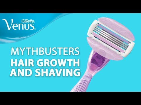 Shaving Myths BUSTED   Shaving Doesn't Make Your Hair Grow Faster   Gillette Venus India