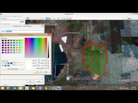 Video 3  Creating a choropleth map in Google Earth