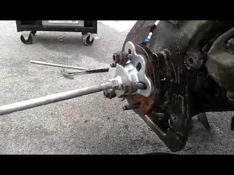 Ford Explorer wheel bearing removal