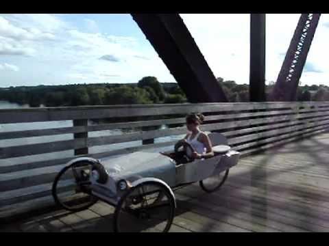 pedal car fun