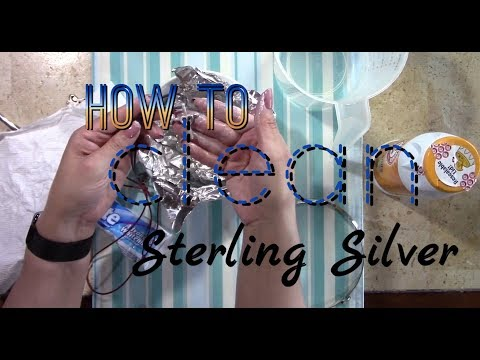 CLEAN TARNISH | STERLING (925) SILVER JEWELRY | HOME Products | FAST & EASY | LIFE