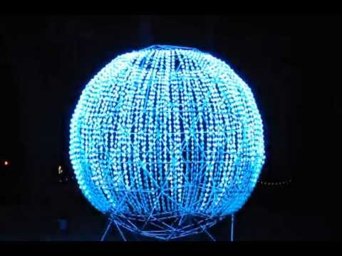 RGB Lighted Geodisic Sphere