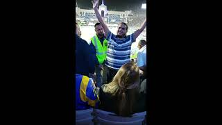 Fight at the LA Coliseum 12/16/18 Rams vs Eagles - Security gets bloodied!!