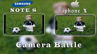 iPhone X vs Galaxy Note 8 Flagship camera battle of 2017 | Which is the best Smartphone camera?