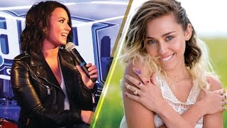 Demi Lovato SPILLS on What She Thinks of Miley Cyrus