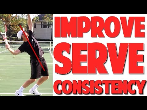 Tennis Serve Technique | Consistency Drill (Top Speed Tennis)