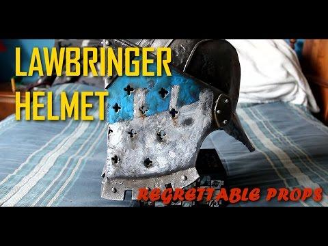 HOW TO: For Honor Costume ( Lawbringer Helmet )
