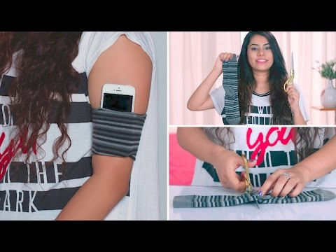 DIY: How To Make Your Own Phone Armband