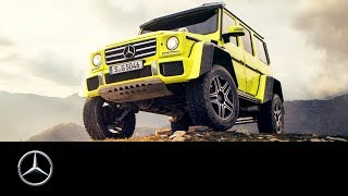 Mercedes-Benz G 500 4x4²: Southern France Road Trip | #MBvideocar