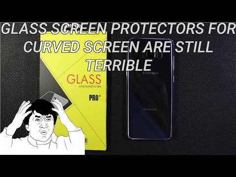 Galaxy S8 Glass Screen Protectors Are Terrible