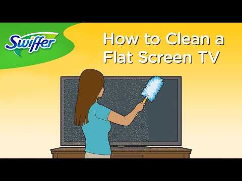 How to Clean a TV Screen with Swiffer Dusters - Ep.14 | Swiffer