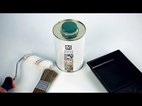 Cement tiles sealing - Instructions (Mosaic Sealer)